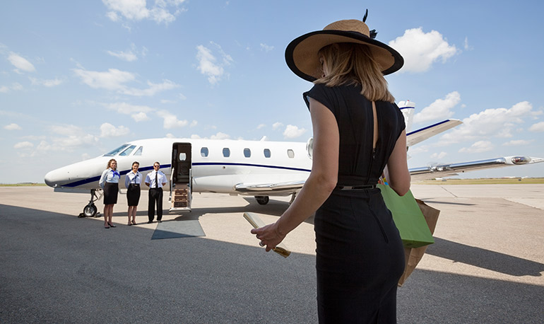 privilages of private  jet charter